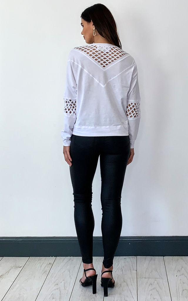 OVERSIZED SWEATER WITH CUT OUT V DETAILING by Religion
