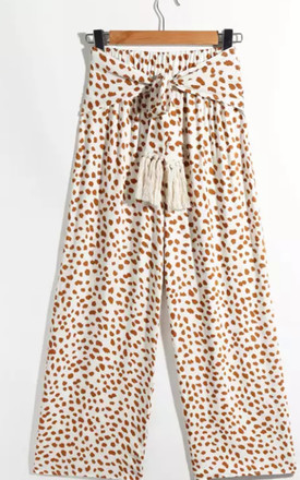 Animal Print Highwaisted trousers by Luxy Boutique
