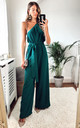 Petite Jade Green Zina Jumpsuit by Silver Birch
