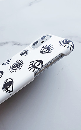 Personalised Evil Eye phone case by Rianna Phillips