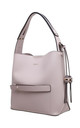 SHOULDER BAG WITH ZIP IN PINK by BESSIE LONDON