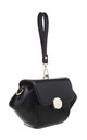 URBAN WRISTLET FLAP OVER BAG BLACK by BESSIE LONDON