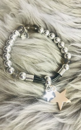 Double Star Charm Bracelet by Pink Lemonade Boutique