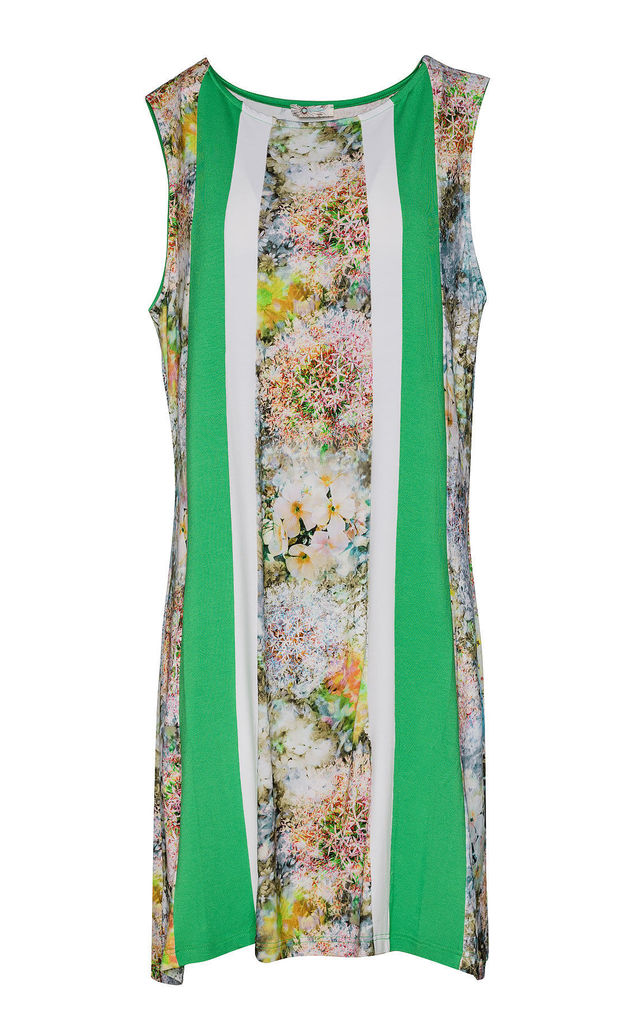 Floral A Line Dress by Conquista Fashion