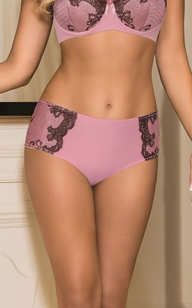 Amelie Pink Knickers by BB Lingerie