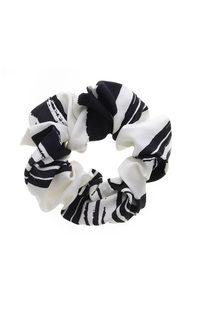 Navy and White Headband and Scrunchie Set by Tutti & Co