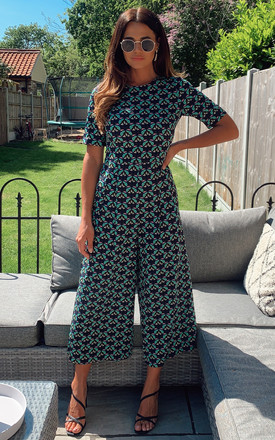 Furious Fanfare   Bianca Jumpsuit (Green) by Traffic People Product photo