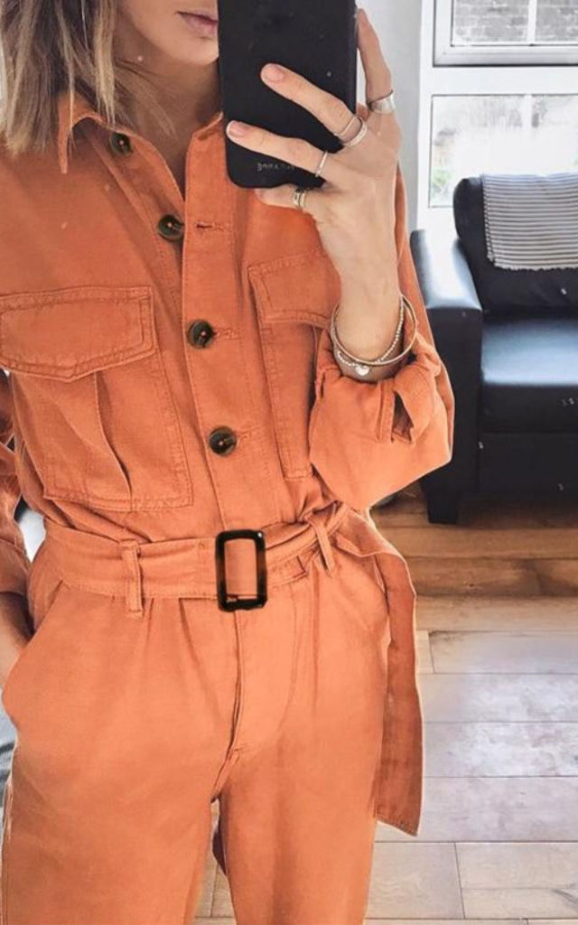 Casual Cargo Jumpsuit by Inner You UK