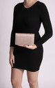 Olivia Champagne Zip Up Clutch Bag by KoKo Couture