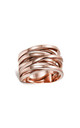 Sunrise Orbital Ring in Rose Gold by ONLY CHILD