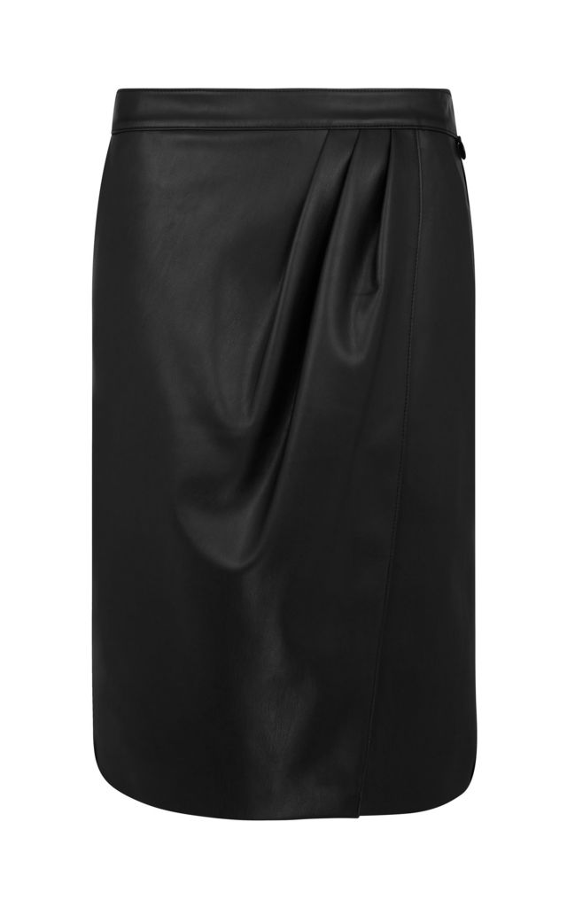 Pencil Skirt Black by Urbancode London