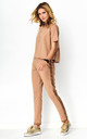 Light Brown Tracksuit Set with Decorative Strap by Makadamia