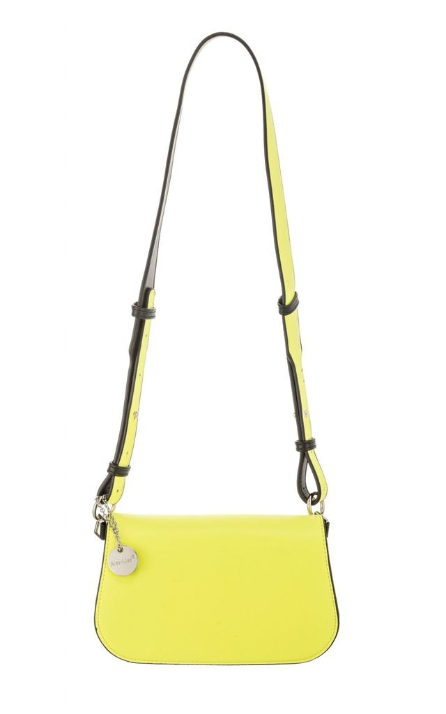 NEON Flap Bag - Yellow by Pink Waters Resort