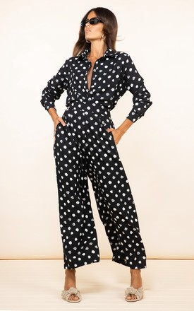 Joey Palazzo Trousers in Painted Dot by Dancing Leopard