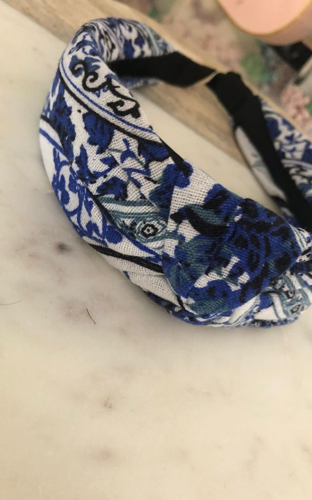 Floral Printed Headband by It's Me Not You