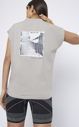 NO LIMITS TSHIRT GREY by WHYTE STUDIO
