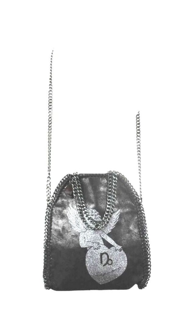 Capricorn Black Crossbody Bag by Disegno Mio