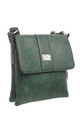 Two-Pocket Bessie Shoulder-Bag GREEN by BESSIE LONDON
