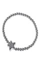 Grey Druzy Star Bracelet by Nautical and Nice Ltd