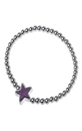 Amethyst Druzy Star Bracelet by Nautical and Nice Ltd