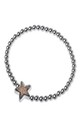 Rose Gold Druzy Star Bracelet by Nautical and Nice Ltd