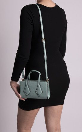 Ruby Small Green Patterned Handbag by KoKo Couture
