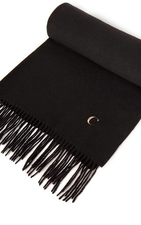 Azurina Personalised Black Supersoft Scarf by Azurina