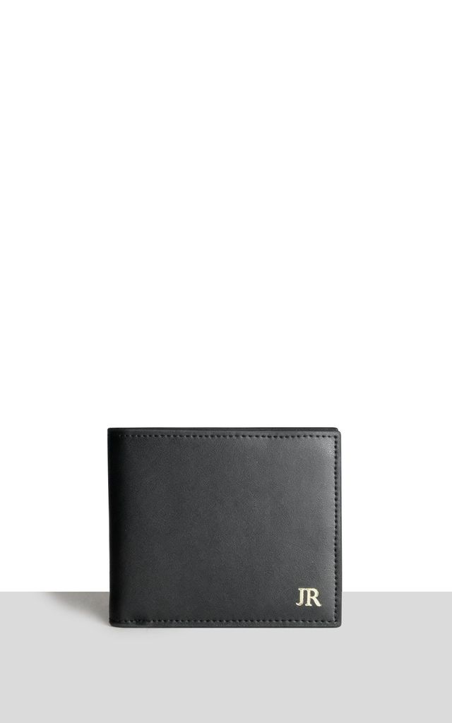 Black Smooth Wallet by Azurina