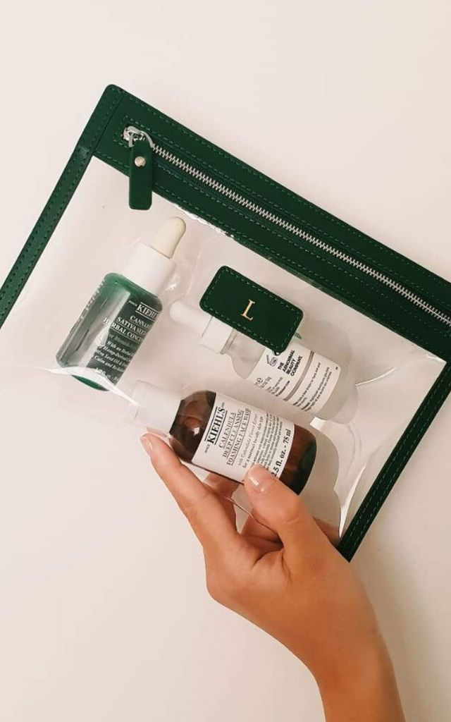 Bottle Smooth 'Bergen' Perspex Pouch by Azurina