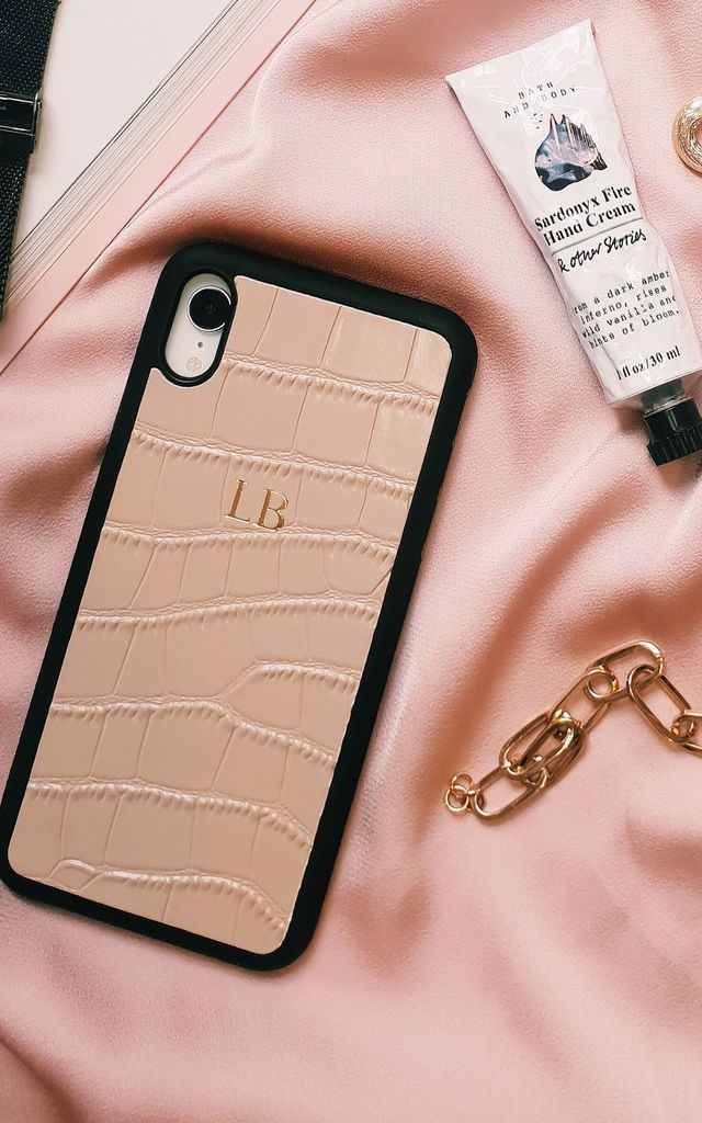 Nude Croc iPhone XS Max Case by Azurina