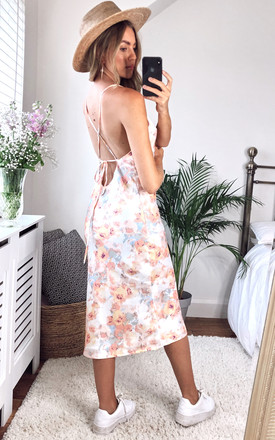 Midi Slip Dress In Mixed Floral by Bardot Product photo