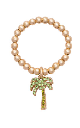 'Club Tropicana' Gold Stacking Ring Set by Kate Thornton
