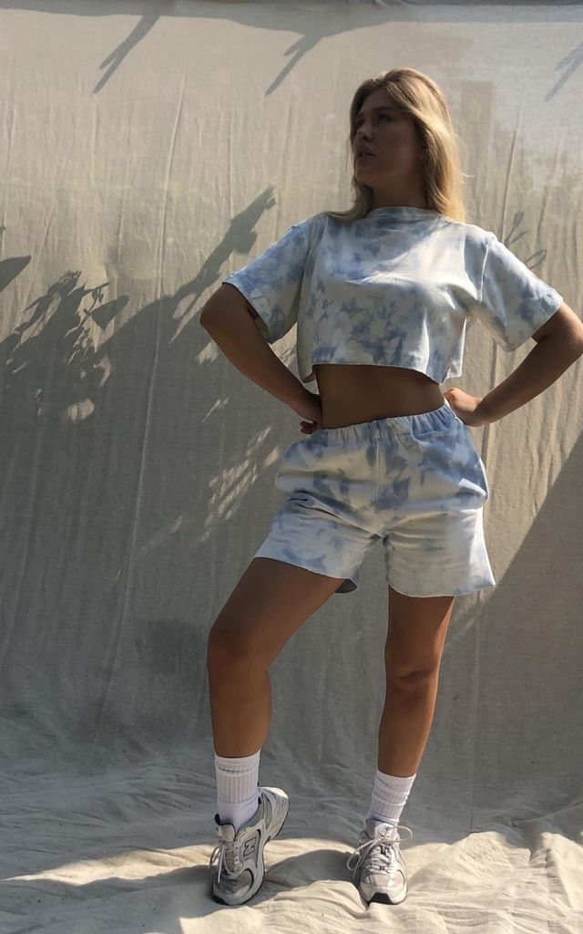 Sky Shorts by Awfully Pretty