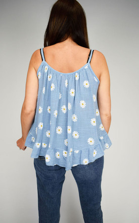 Daisy Print Italian Cami Top by Tilly Tizarro