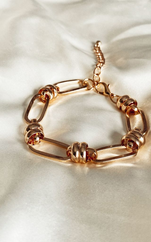 Tessa gold chain bracelet by The Grey Collective