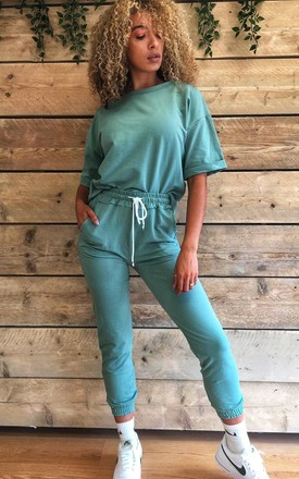 Sage Green Loungewear set by Mimi Clothing