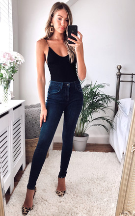 Dgt High Waist Skinny Jeans by Damn Good Thing Product photo