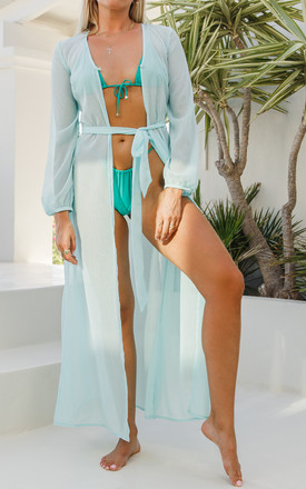 Blue beach kaftan by Ambi The Brand