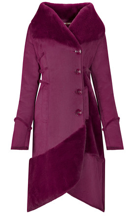 Suedette Coat by Joe Browns