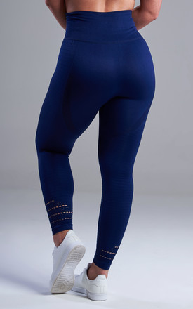 The Capella Leggings in Blue by The Gym Wear Boutique