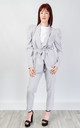 Relaxed Fit Two Piece Suit (GREY) by Lucy Sparks