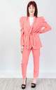 Relaxed Fit Two Piece Suit (PINK) by Lucy Sparks