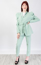 Relaxed Fit Two Piece Suit (MINT) by Lucy Sparks