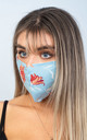 Face Masks (PACK OF 5) (ROSEBLUE) by Lucy Sparks