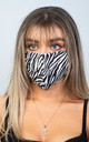 Face Masks (PACK OF 5) (ZEBRAP) by Lucy Sparks