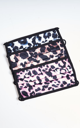 3 Pack Leopard Print Face Masks by love frontrow
