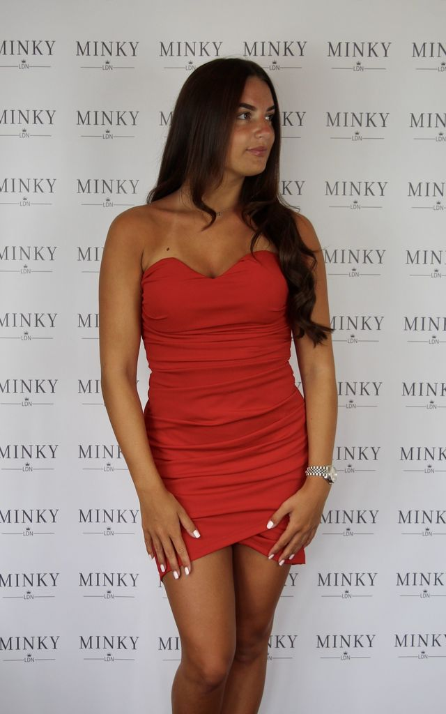 The Maria Dress - Red by Minky LDN