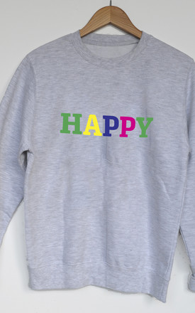 Happy Rainbow Sweatshirt by Solesmith