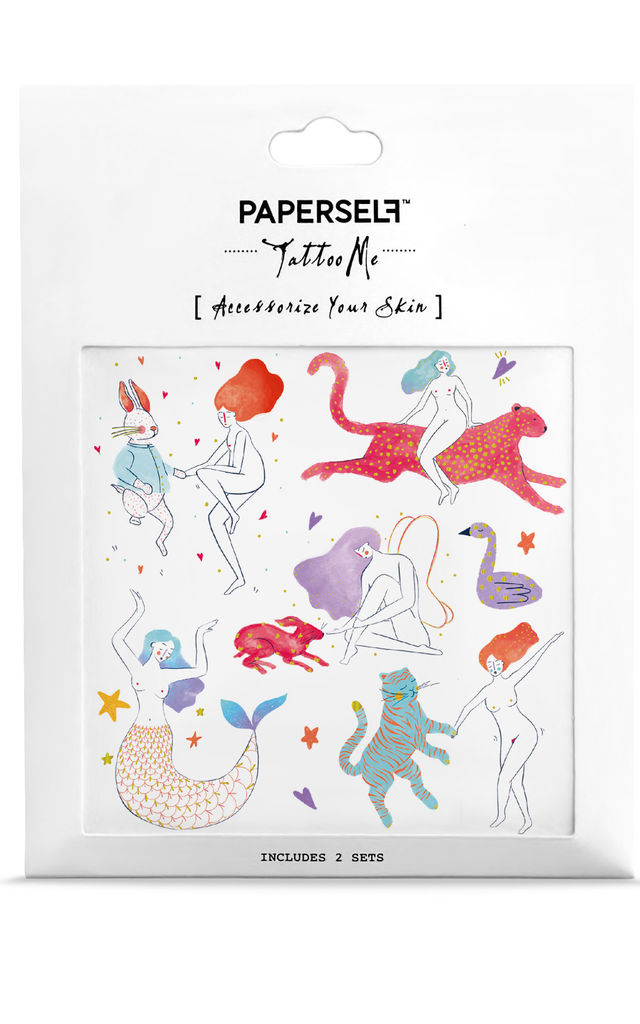 Eden Temporary Tattoos by PAPERSELF