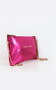 METALLIC PINK MINI BAG by THE CODE HANDBAGS